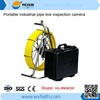 Drain Sewer Pipe Inspection camera with 30/40/140M cable and DVR