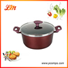 Good Qulaity Aluminium Kitchen Cookware Casserole with Metal Handle