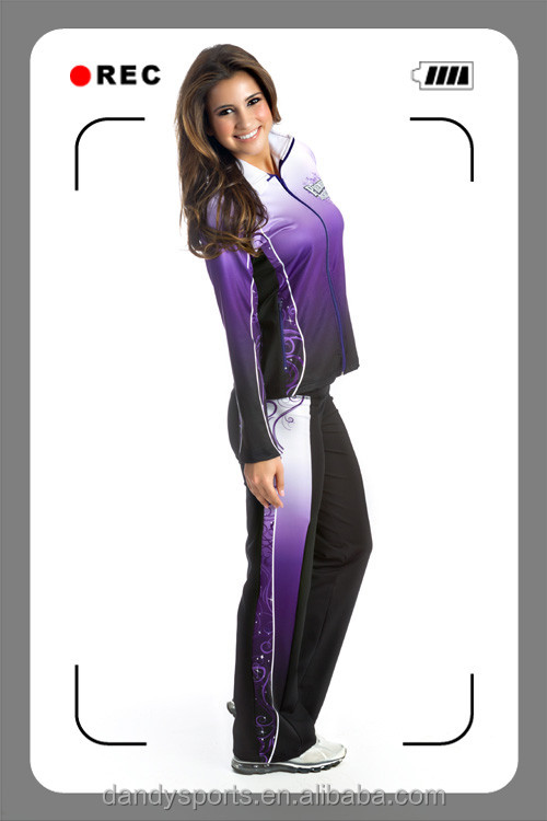 wholesale sublimated cheerleading uniforms team cheer uniforms jacket and pants