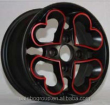ALL KINDS OF ALUMINUM CAR ALOY WHEEL RIMS LOW PRESURE CASTING WHEEL WITH DIFFERENT SURFACE TREATMENT S377