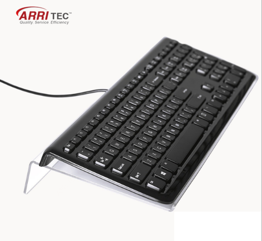 Hot excellent Clear acrylic keyboard display stand