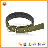 Hot sale factory price best selling plain nylon dog collars