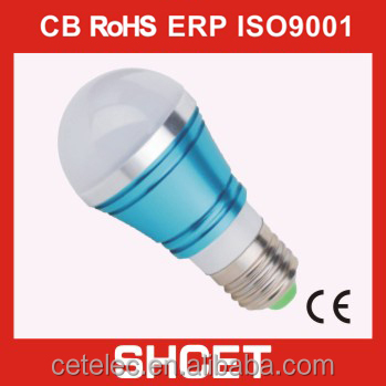 cet-007 a60 big power led light lamp led lamp bulb 3w 5w 7w