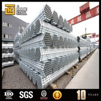 Galvanized Steel Pipe/GI Steel Pipe/HDG Steel Pipe greenhouse used galvanized pipe