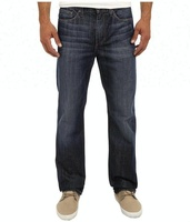 Royal wolf denim garment factory dark blue mens straight fit wholesale bamboo jeans cross hatch denim jeans