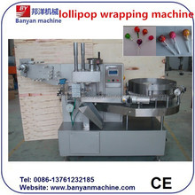 BY-350 Automatic Single Twist Ball Lollipop Wrapping Machine