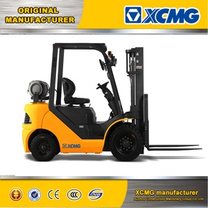 XCMG 3.5 ton new Nissan k25 engine container mast gasoline & LPG forklift truck