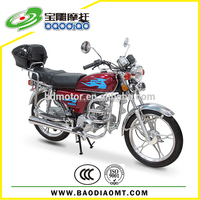 China High Quality Moped New Cheap Motorcycle 110cc Engine Motorcycle Wholesale Baodiao Manufacture Supply Directly