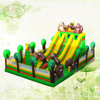 Funny china new cheap design giant inflatable water slide, inflatable floating water slide