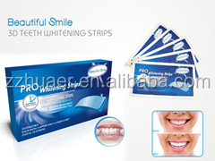 Huaer OEM 3D Teeth Whitening Strip ,Gel Teeth whitening Strips,Dental Whitening Strips
