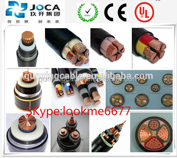 0.6/1KV XLPE/PVC SWA CE 70mm2 95mm2 Power Cable 120mm2 Power Wire Cu 150mm2 185mm2 Power Cable