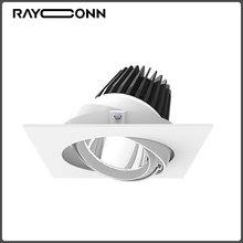 Hot sale energy saving aluminum alloy adjustable gu10 30w led cob spotlight
