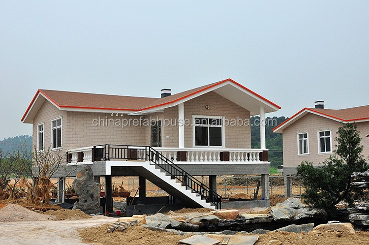 Yaoda concrete panel villa pre fab house