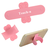 Fashion U Mobile Phone Stand Silicone Tabletop Cell Phone Holder