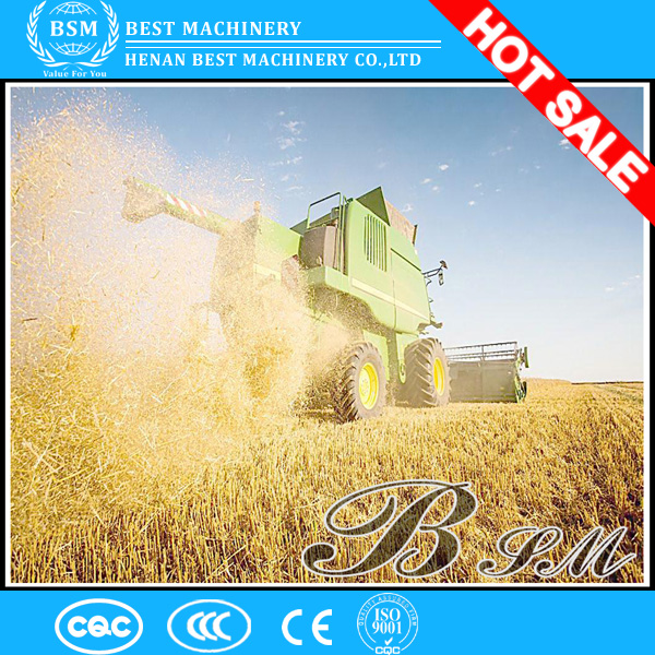 China best supplier of self- propelled wheat combine harvester, rice combine harvester, small combine harvester