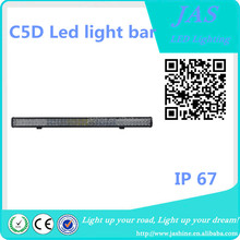 New Product C5D Dual Row 288W Super bright50 inch IP 67 for car off road led light bar
