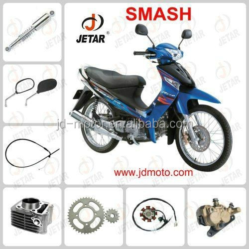Shock absorber/tyre/meter/ and rear brake cam for SMASH SUZUKI TO SOUTH AMERICA MARKET