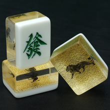 Custom Mahjong Manufacturer With Customized Logo Wooden Box