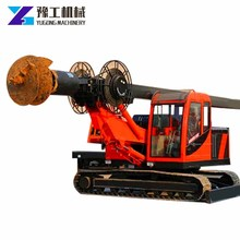 Hot Product Adaptive Drilling Range diameter 600-1000 mm power head water well drilling rig For Personal Use