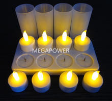 Hot Selling Safety Flameless Rechargeable Electric Tea Light Led Candle