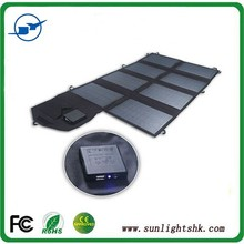 Outdoor or indoor portable folding solar panel,charger power charger bag for mobile phone,laptop,table PC