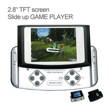 2.8 inch best mp5 games player with slide up game player support SD/MMC card (BT-P303)