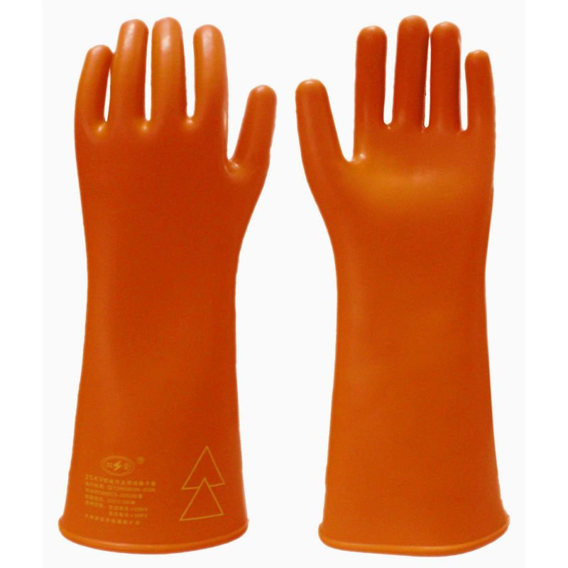 safety protection rubber electric insulation gloves