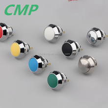 12mm waterproof stainless steel machine push-button switch