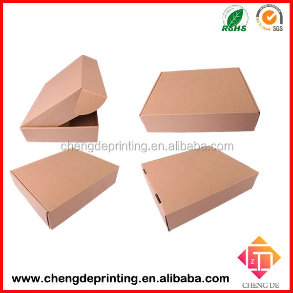 Corrugated mailing boxes,electronic packaging,brown kraft paper box