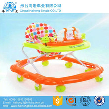 2017 new model factory wholesale cheap music baby walkers best selling for baby walker with Sunshade