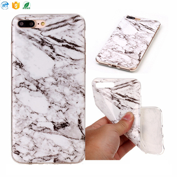 Mobile Accessories Fashion 2018 Slim Soft TPU Marble Phone Case For Iphone X