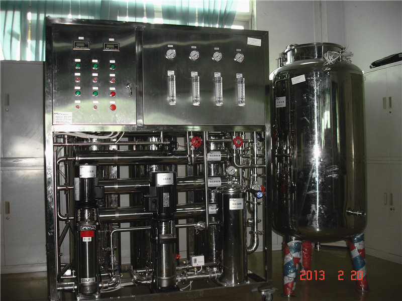 Fully automatic /manual ro mini salt water desalting machine