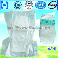 Cloth-like disposable baby Diaper Baby Nappies Baby diaper manufactuer in china with PP Tapes/Magic Tapes