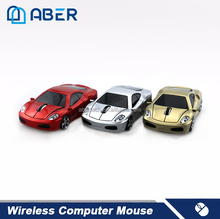 Shenzhen Factory 2.4Ghz Optical Car Shape Wireless Mouse
