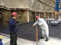 BITUMEN 2K/Two component polyurethane bitumen based liquid membrane for flashing waterproofing