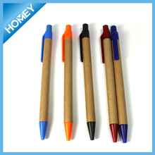 Eco friendly recycled paper ballpoint pen