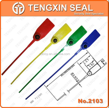 ISO17712 standard engineTX-PS103 oil seal tamper evident plastic seals