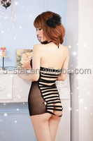 Ladies Lingerie Sexy Women Sex Underwear Ladies see-through blouses Lovely backless dress