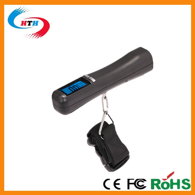 New design digital hanging luggage scale with a tape