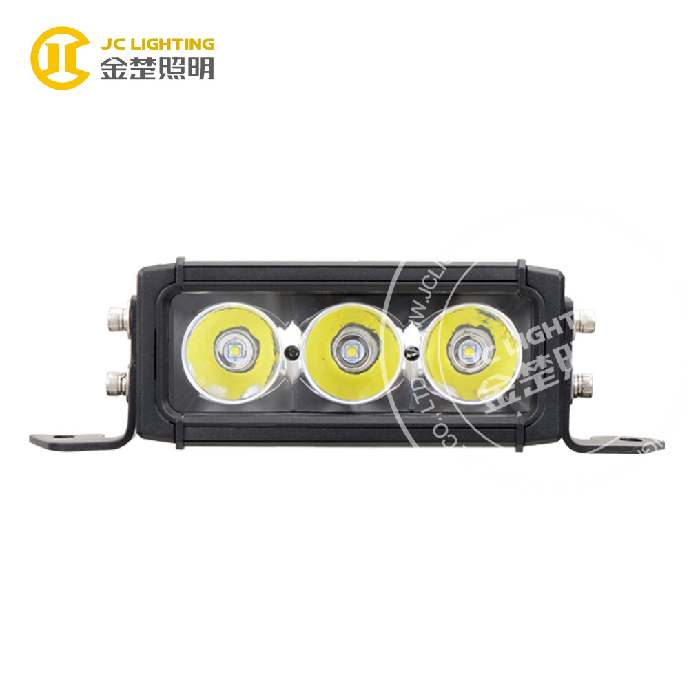 China wholesale 30w led light bar for forklift truck/offroad buggy, electric motorcycle led lights cree