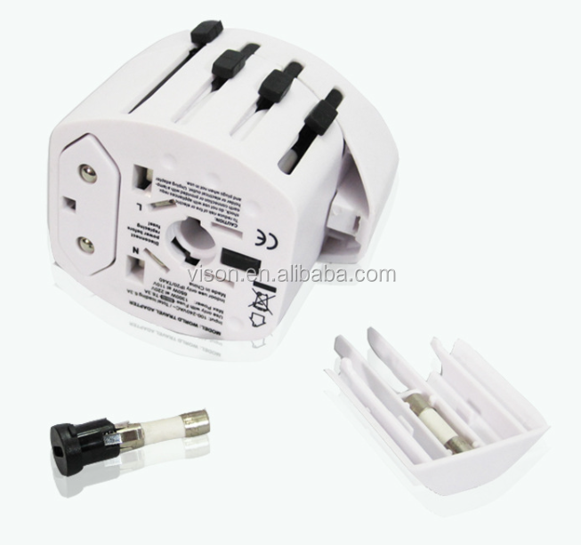 universal multi design worldwide portable travel adapter