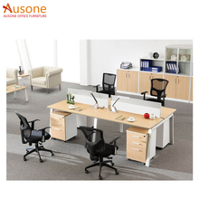 office furniture 4 person stainless steel table