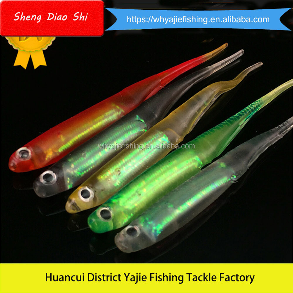 Factory Supply OEM Soft Fishing Lure, Soft Lure Soft Bait Japan Type