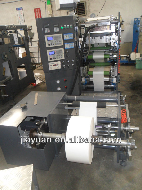 Brand New JYT-320 High Speed Hot Melt Glue Coating / Lamination Machine, Self Adhesive Label / Trademark Laminating Equipment