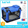 Portable Oxgord Soft-Sided cat travel carrier cat crate