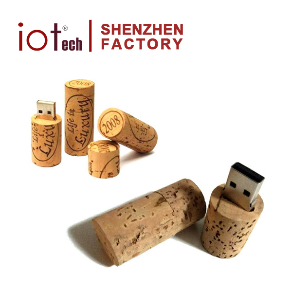 Best Wedding Gift Wine Cork 8GB USB Flash Drives Stick Bulk Items