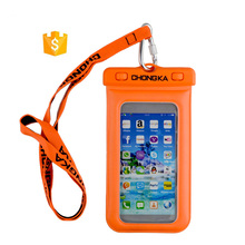 Professional Cell Phone Accessory PVC Phone Waterproof Case for iPhone 5S for Galaxy S5