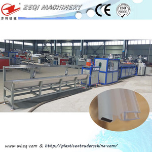 waterproof plastic / rubber / PVC door / window seal strip production line in high quality for sale