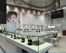 Chinese jewelry display kiosk jewelry shop interior design from Shenzhen China supplier