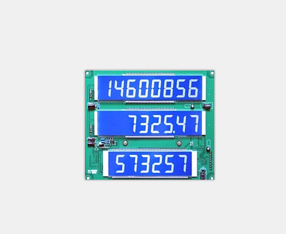 LCD display board for fuel dispenser X329